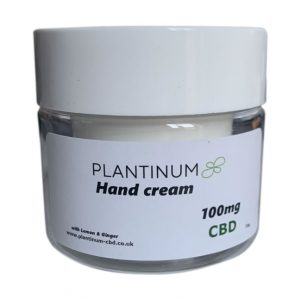 Plantinum CBD Hand Cream 100mg product photo