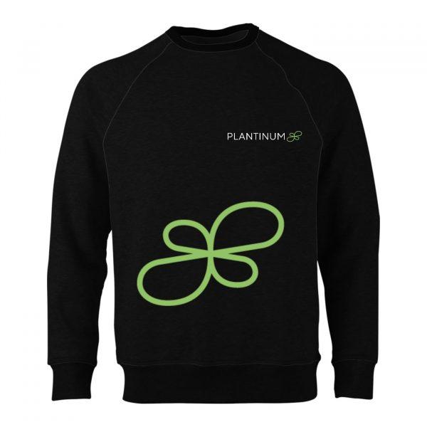 Plantinum-CBD Merchandise Jumper Black