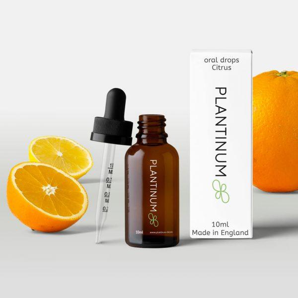 Plantinum CBD Oral Drops Citrus 10ml for sale online