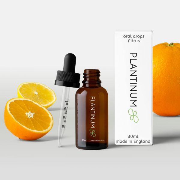 Plantinum CBD Oral Drops Citrus 30ml for sale online