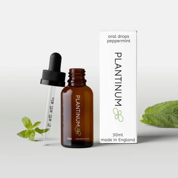 Plantinum CBD Oral Drops Peppermint 30ml for sale online
