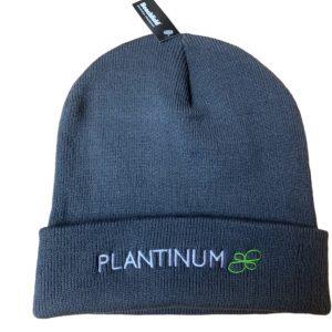 Plantinum Beanie hat